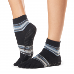 ToeSox Full Toe Ankle Grip Socks in Duet