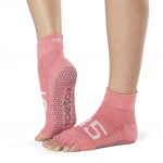 ToeSox Half Toe Ankle Grip Socks in Ace