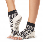 ToeSox Half Toe Ankle Grip Socks in Beloved