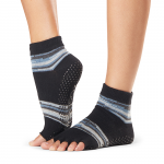 ToeSox Half Toe Ankle Grip Socks in Duet