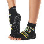 ToeSox Half Toe Ankle Grip Socks in Fresco