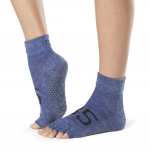 ToeSox Half Toe Ankle Grip Socks in Jersey