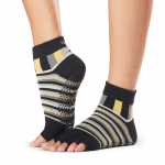 ToeSox Half Toe Ankle Grip Socks in King
