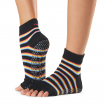 ToeSox Half Toe Ankle Grip Socks in Mystique