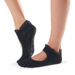 ToeSox Full Toe Bella Grip Socks in Midnight Lace
