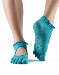 ToeSox Full Toe Bella Grip Socks in Sea Lace