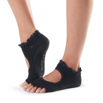 ToeSox Half Toe Bella Grip Socks in Midnight Lace