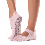 ToeSox Full Toe Bellarina Grip Socks in Allure