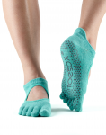 ToeSox Full Toe Bellarina in Aqua