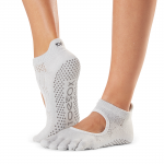 ToeSox Full Toe Bellarina Grip Socks in Ciao