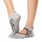 ToeSox Full Toe Bellarina Grip Socks in Comet