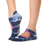ToeSox Full Toe Bellarina Grip Socks in Cosmic