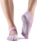 ToeSox Full Toe Bellarina in Diamond Freesia