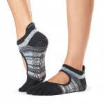 ToeSox Full Toe Bellarina Grip Socks in Duet