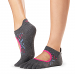 ToeSox Full Toe Bellarina Grip Socks in Festival