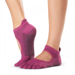 ToeSox Full Toe Bellarina Grip Socks in Groovy