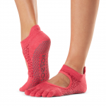ToeSox Full Toe Bellarina Grip Socks in Hermosa