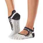 ToeSox Full Toe Bellarina Grip Socks in Serene