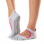 ToeSox Full Toe Bellarina Grip Socks in Siesta