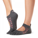 ToeSox Full Toe Bellarina Grip Socks in Sundown
