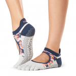 ToeSox Full Toe Bellarina Grip Socks in Yonder