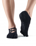 ToeSox Full Toe Elle in Black