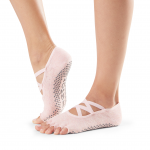 ToeSox Half Toe Elle in Crystal