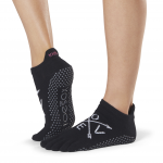 ToeSox Full Toe Low Rise Grip Socks in Fate