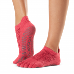 ToeSox Full Toe Low Rise Grip Socks in Hermosa