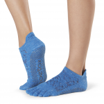 ToeSox Full Toe Low Rise in Lapis