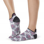 ToeSox Full Toe Low Rise Grip Socks in Mantra