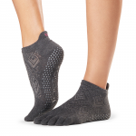 ToeSox Full Toe Low Rise Grip Socks in Spirit