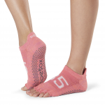 ToeSox Half Toe Low Rise Grip Socks in Ace