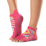 ToeSox Half Toe Low Rise Grip Socks in Bon Voyage