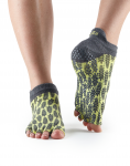 ToeSox Half Toe Low Rise in Citron