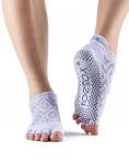ToeSox Half Toe Low Rise in Diamond Lotus