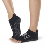 ToeSox Half Toe Low Rise Grip Socks in Fate