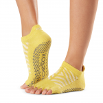 ToeSox Half Toe Low Rise Grip Socks in Getaway