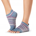 ToeSox Half Toe Low Rise Grip Socks in Gypsy