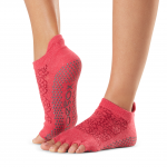 ToeSox Half Toe Low Rise Grip Socks in Hermosa