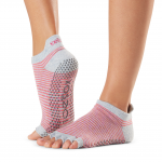 ToeSox Half Toe Low Rise Grip Socks in Hola