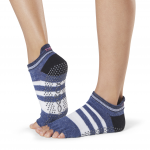 ToeSox Half Toe Low Rise Grip Socks in Iconic