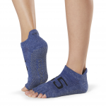 ToeSox Half Toe Low Rise Grip Socks in Jersey