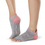 ToeSox Half Toe Low Rise Grip Socks in Maniac