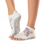 ToeSox Half Toe Low Rise Grip Socks in Pico
