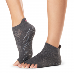 ToeSox Half Toe Low Rise Grip Socks in Spirit