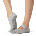 ToeSox Full Toe Mia in Heather Grey