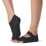 ToeSox Half Toe Mia in Black