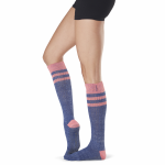 ToeSox Full Toe Knee High Grip Socks in Jazz