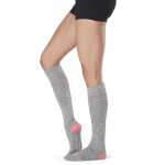 ToeSox Full Toe Knee High Grip Socks in Maniac